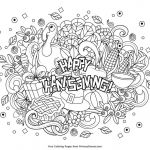 Thanksgiving Coloring Book Inspiration Free Pages Papaki C