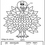 Thanksgiving Coloring Books for Kids Inspirational Spanish Printable Coloring Pages Abcteach