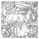 Thanksgiving Coloring Books for Kids New Fall Coloring Pages Ebook Fall Pumpkins Berries and Leaves