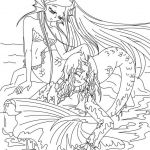 The Little Mermaid Coloring Pages Amazing Luxury Anna Elsa Mermaid Coloring Pages – Nicho