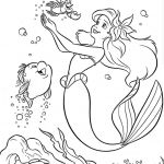 The Little Mermaid Coloring Pages Beautiful Little Mermaid Coloring Pages New Pin Od Renata Na Disney Coloring
