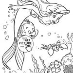 The Little Mermaid Coloring Pages Marvelous Unique Free Mermaid Coloring Page 2019
