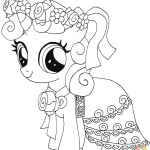 The Little Mermaid Coloring Pages Wonderful My Little Pony Coloring Pages