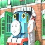 Thomas the Train Cranky Awesome Best Of Thomas the Tank Steam Outline Engine Racing with Live Diesel