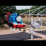 Thomas the Train Cranky Inspirational Best Of Thomas the Tank Steam Outline Engine Racing with Live Diesel