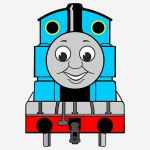 Thomas the Train Halloween Awesome Thomas the Train Svg Collection Thomas the Train Dxf Thomas the Train Clipart Svg Files for Silhouette Cameo or Cricut