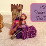Thronecoming Ca Cupid Brilliant Nina Thumbell Bed & Dorm Room Doll House Video tour & How to Make
