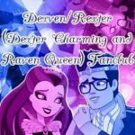 Thronecoming Ca Cupid Excellent Closed Ever after High Dexven Rexter Dexter Charming & Raven