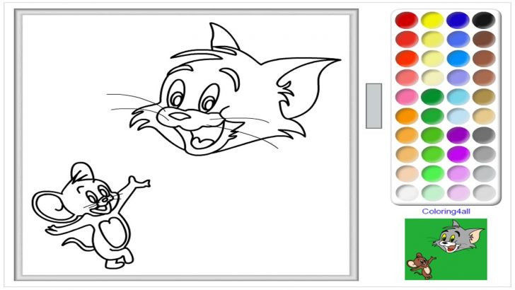 Tom and Jerry Colouring Books Brilliant Coloring Page Excelent Line Coloring Sheets