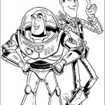 Toy Story Coloring Page Creative Print Buzz Lightyear and Woody Sheriff toy Story Coloring Pages or