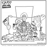 Toy Story Coloring Page Pretty toy Story Coloring Pages