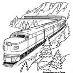 Train Coloring Pages for Preschoolers Best 16 Best Train Coloring Pages Images In 2016