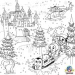 Train Coloring Pages for Preschoolers Best Free Printable Tractor Coloring Pages