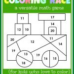 Train Coloring Pages for Preschoolers Creative Math Game for Kids Coloring Race Bines Math and Coloring the