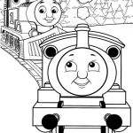 Train Coloring Pages for Preschoolers Creative Simple Thomas the Train Coloring Pages · Thomas the Train Coloring
