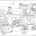 Train Coloring Pages for Preschoolers Exclusive Lego City Police Truck Coloring Pages Train Ninjago to Print