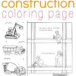 Train Coloring Pages for Preschoolers Inspirational Construction Coloring Page for Kids who Love Diggers
