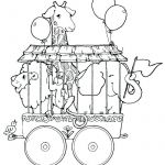 Train Coloring Pages for Preschoolers Inspired Luxury Circus Animal Train Coloring Pages – Kursknews