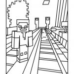 Train Coloring Pages for Preschoolers Inspired Railroad Track Drawing at Getdrawings