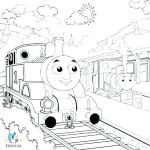 Train Coloring Pages Free Best Thomas Coloring Book Free Printable and Friends Colouring Pages From