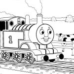 Train Coloring Pages Free Elegant Thomas the Train James Coloring Pages