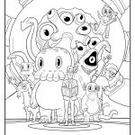 Train Coloring Pages Free Inspiration Free C is for Cthulhu Coloring Sheet Cool Thulhu
