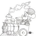 Train Coloring Pages Free Inspirational Mickey Mouse Coloring Page Mickey Mouse