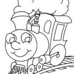 Train Coloring Pages Printable Creative 16 Best Train Coloring Pages Images In 2016