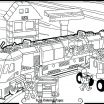 Train Coloring Pages Printable Free Creative Train Coloring Pages – Sharpball