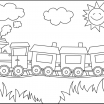 Train Coloring Pages Printable Free Inspiration Choo Choo Train Coloring Pages Gallery 79 Images