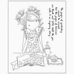 Transparent Coloring Pages Creative 2018new Girl Cute Transparent Clear Silicone Stamps for Diy