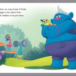 Trolls Branch Color Awesome too Many Cupcakes Dreamworks Trolls On Apple Books