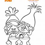 Trolls Branch Color Elegant Beautiful Trolls Coloring Pages