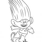 Trolls Branch Color Inspiring Trolls Movie Coloring Pages