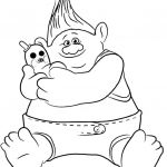 Trolls Coloring Book Amazing Troll Coloring Pages