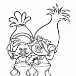 Trolls Movie Printables Creative 25 Marvelous Image Of Poppy Troll Coloring Page