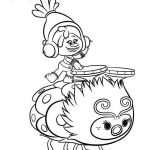 Trolls Movie Printables Inspirational Christmas Coloring Pages Trolls with Print Poppy Color Time In 2018