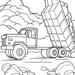 Truck Coloring Books Inspiring 21 Truck Coloring Pages Collection Coloring Sheets
