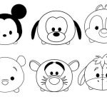 Tsum Tsum Coloring Awesome Cute Tsum Tsum Coloring Pages Coloring Pages for Kids
