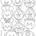 Tsum Tsum Coloring Fresh 223 Best Tsum Tsum Coloring Pages Images In 2019