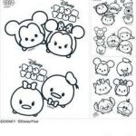 Tsum Tsum Coloring New 223 Best Tsum Tsum Coloring Pages Images In 2019