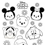 Tsum Tsum Coloring New Part 366 Zootopia Judy Hopps Coloring Pages