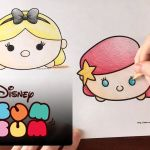 Tsum Tsum Coloring Pages Best Coloring Pages Ariel