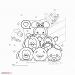 Tsum Tsum Coloring Pages Excellent Fresh Tsum Tsum Coloring Page 2019