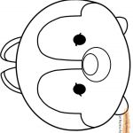 Tsum Tsum Coloring Pages Excellent Sponsorship Icon at Getdrawings