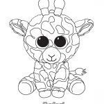 Ty Beanie Boos Coloring Pages Awesome Beanie Boo Kleurplaat