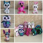 Ty Beanie Boos Coloring Pages New 2019 Sequin Ty Beanie Boos Stuffed Dolls Big Eyes Unicorn Plush toy