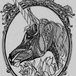 Unicorn Adult Coloring Pages Awesome 14 Awesome Adult Coloring Page Kanta