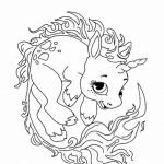 Unicorn Adult Coloring Pages Inspirational Great Of Unicorn Coloring Pages for Adults Entitlementtrap