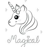 Unicorn Adult Coloring Pages New Free Unicorn Coloring Pages – Number38fo